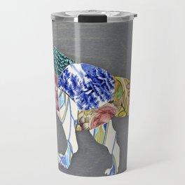 Recycled China Dinosaur Travel Mug