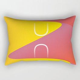 Dune title art Rectangular Pillow