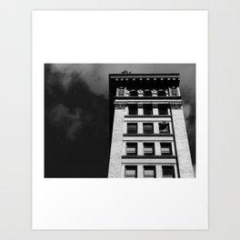 Look up New York 4 Art Print