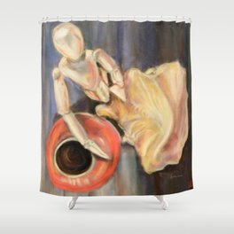 Three Objects Shower Curtain