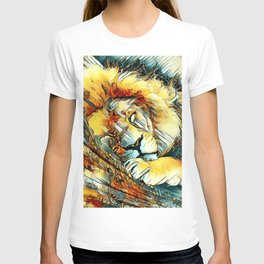 AnimalArt_Lion_20170604_by_JAMColorsSpecial T-shirt