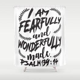 Psalm 139:14 Shower Curtain