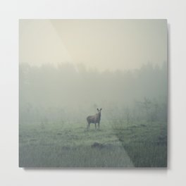 Mamma moose Metal Print