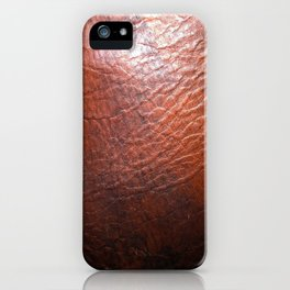 Rich Leather iPhone Case