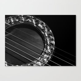 Still my guitar Canvas Print