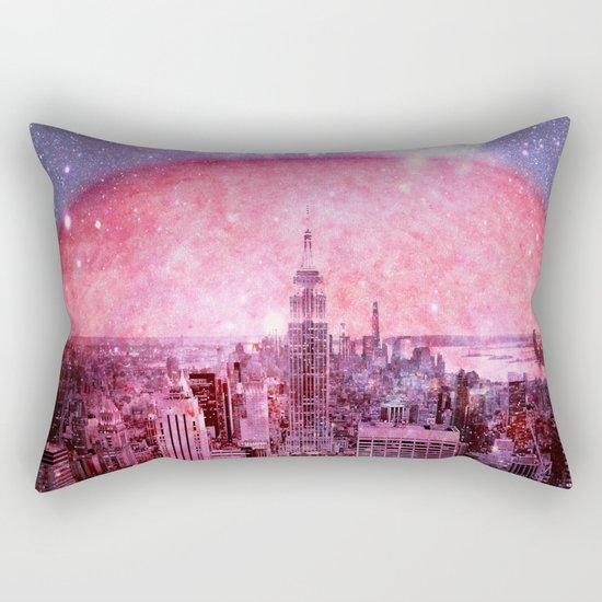 Galaxy : Space Colony Rectangular Pillow