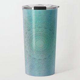 Mandala sensual light Travel Mug