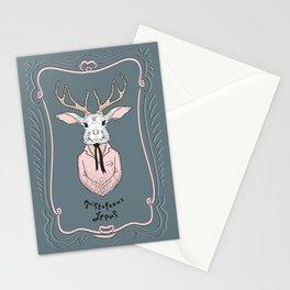 Epistolarus Lepus (brume) Stationery Cards