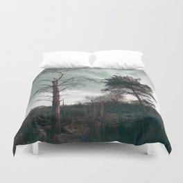 Dead Tree - Live and Die Duvet Cover