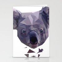 koala Stationery Cards featuring KOALA by MGNFQ