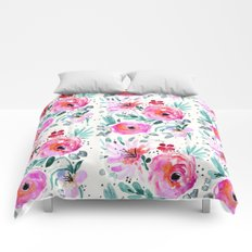 Colby Floral Comforters