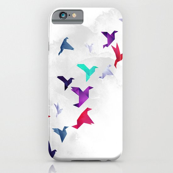 Paper birds iPhone & iPod Case