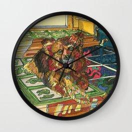 Cubby Wall Clock