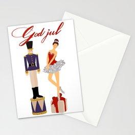 God jul Stationery Cards
