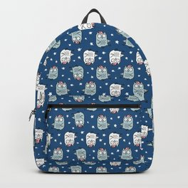 Baby Owl Pattern Backpack