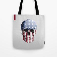 American Skull Tote Bag