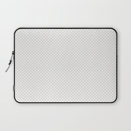 Creamy Tofu and White Mini Check 2018 Color Trends Laptop Sleeve