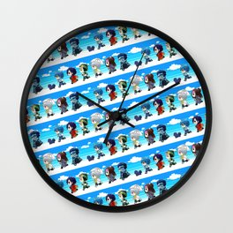 DMMD chibi Wall Clock