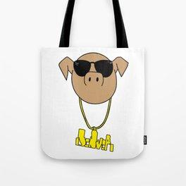 PigLit Tote Bag