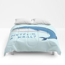 Netflix & Krill Comforters
