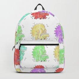 Backwards Crocodiles Backpack