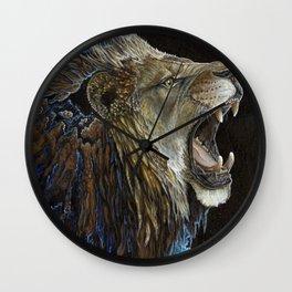 Deafening Roar Wall Clock