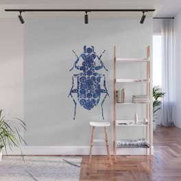 Blue Beetle II Wall Mural