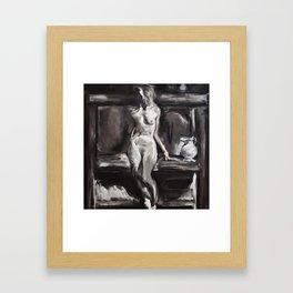 Steve Huston Study Framed Art Print