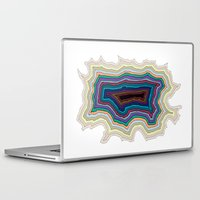 abyss Laptop & iPad Skins featuring The Abyss by Rachel Caldwell