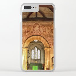 Clayton Church Interior Clear iPhone Case