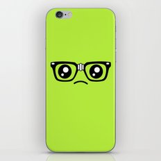 Sad little nerd. iPhone & iPod Skin