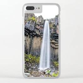 Smooth Svartifoss Clear iPhone Case