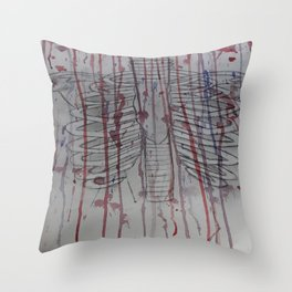 The poison is back and it's killing your garden.  Throw Pillow