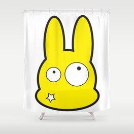 Bunny Star Shower Curtain