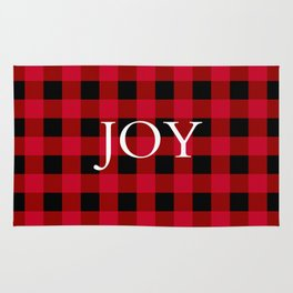 Joy Red Buffalo Check Rug
