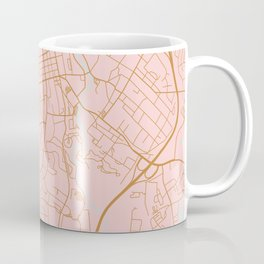 Athens map, Georgia Coffee Mug