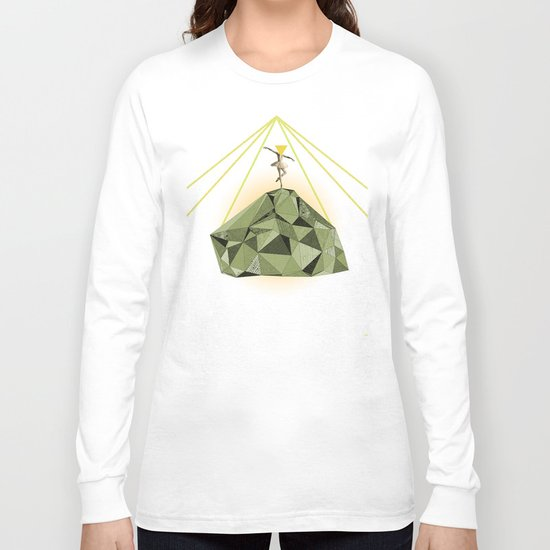 the dancer who could bring warmness to the coldest iceberg  Long Sleeve T-shirt