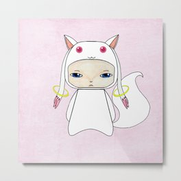 A Boy - Kyubey Metal Print