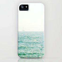 Ocean Ghost Ship iPhone Case