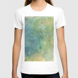 Pastel Abstract Watercolor Painting T-shirt