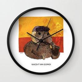 Vincent van Gopher Wall Clock