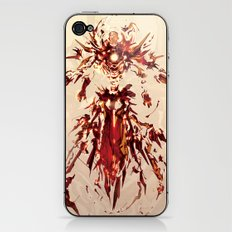 Iron God iPhone & iPod Skin