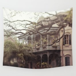 New Orleans Southern Beauty Wall Tapestry