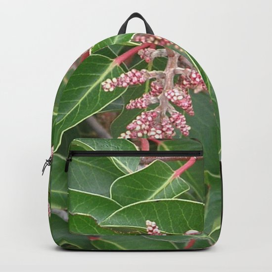 TEXTURES - Manzanita in Drought #1 Backpack