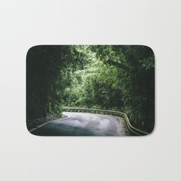 Driving the Hana Highway Bath Mat