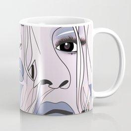 lip filler collage Coffee Mug