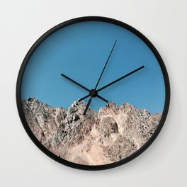 Glorious Mountains Wall Clock
