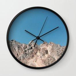 Glorious Mountains Wall Clock