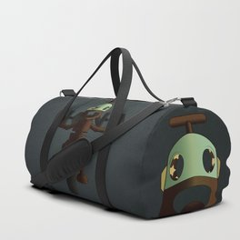 Nono the robot (reloaded) Duffle Bag