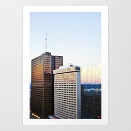 Reflected Sunset Art Print